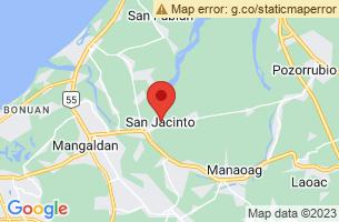 Map of San Jacinto, San Jacinto Masbate