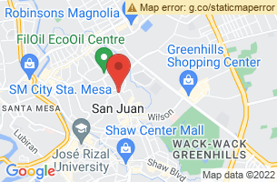 Map of San Juan River, San Juan Manila