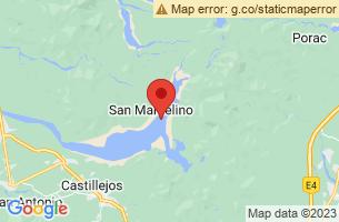 Map of San Marcelino, San Marcelino Zambales