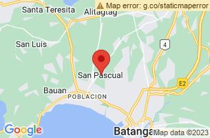 Map of San Pascual, San Pascual Batangas