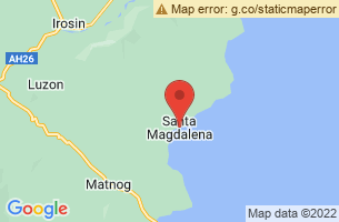 Map of Santa Magdalena, Santa Magdalena Sorsogon