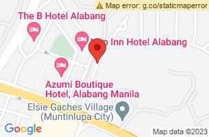 Map of Santa Teresita, Santa Teresita Batangas