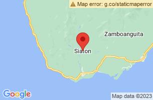 Map of Siaton, Siaton Negros Oriental