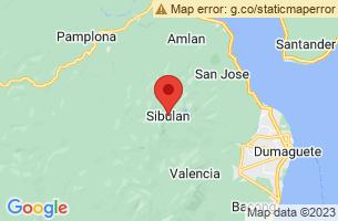 Map of Sibulan, Sibulan Negros Oriental