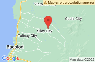 Map of Silay City, Silay City Negros Occidental
