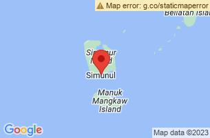 Map of Simunul, Simunul Tawi-Tawi