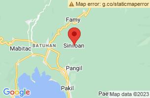 Map of Tulay na Bato Falls, Siniloan Laguna