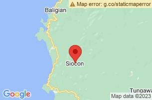 Map of Mount Canatuan, Siocon Zamboanga del Norte