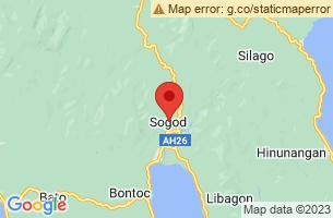 Map of Sogod Bay, Sogod Southern Leyte