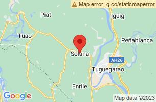 Map of Cagayan Valley, Solana Cagayan