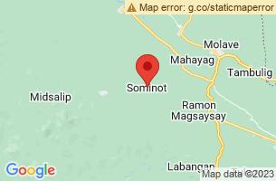 Map of Sominot, Sominot Zamboanga del Sur