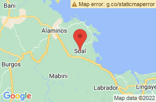 Map of Sual, Sual Pangasinan