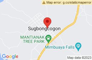 Map of Sugbongcogon, Sugbongcogon Misamis Oriental