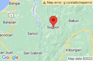 Map of Sugpon, Sugpon Ilocos Sur