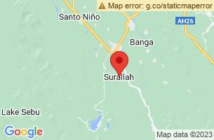 Map of Surallah, Surallah South Cotabato
