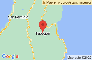 Map of Tabogon, Tabogon Cebu