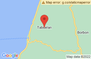 Map of Tabuelan, Tabuelan Cebu