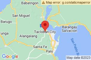 Map of Tacloban City, Tacloban City Leyte