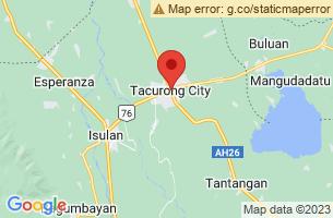 Map of Baras Bird Sanctuary, Tacurong City Sultan Kudarat