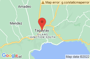 Map of Tagaytay Picnic Grove, Tagaytay City Cavite