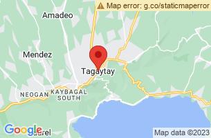 Map of Tagaytay City, Tagaytay City Cavite