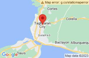 Map of Tagbilaran City, Tagbilaran City Bohol