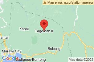 Map of Tagoloan II, Tagoloan II Lanao del Sur