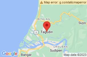 Map of Tagudin, Tagudin Ilocos Sur
