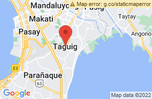 Map of Taguig River, Taguig Manila
