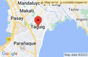 Map of Taguig, Taguig Manila