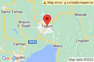 Map of Kadagayaan Festival, Tagum City Davao del Norte