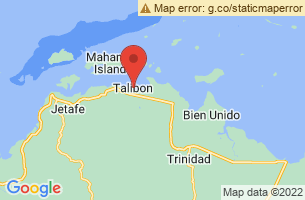 Map of Talibon Islands Landscape Seascape, Talibon Bohol