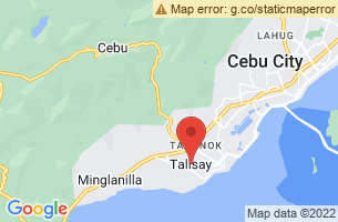 Map of The Ruins, Talisay City Negros Occidental