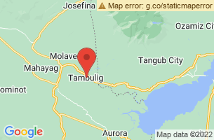 Map of Tambulig, Tambulig Zamboanga del Sur