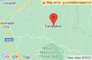 Map of Tampakan, Tampakan South Cotabato