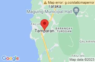 Map of Tamparan, Tamparan Lanao del Sur
