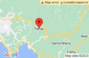Map of Tanay, Tanay Rizal