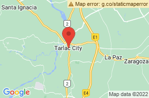 Map of Tarlac City, Tarlac City Tarlac