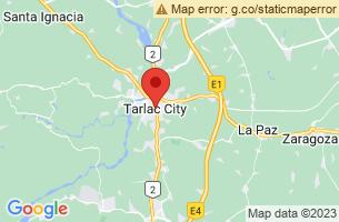 Map of Tarlac,