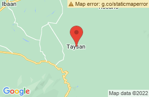 Map of Taysan, Taysan Batangas