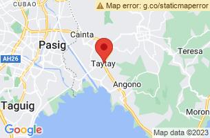 Map of Taytay, Taytay Rizal