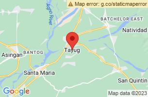 Map of Tayug, Tayug Pangasinan