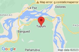 Map of Tayum Church, Tayum Abra