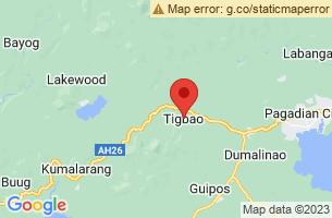 Map of Tigbao, Tigbao Zamboanga del Sur
