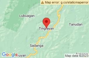 Map of Tinglayan, Tinglayan Kalinga