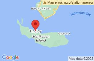 Map of Mount Mag Asawang Bato, Tingloy Batangas