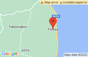 Map of Tolosa, Tolosa Leyte