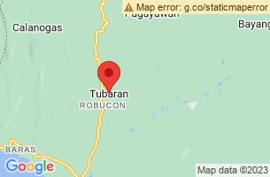 Map of Tubaran, Tubaran Lanao del Sur
