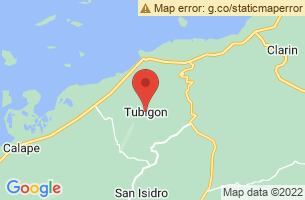 Map of Tubigon, Tubigon Bohol