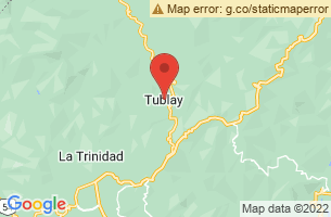 Map of Tublay, Tublay Benguet